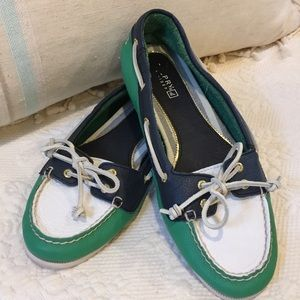 Sperry supple leather shoes size 8